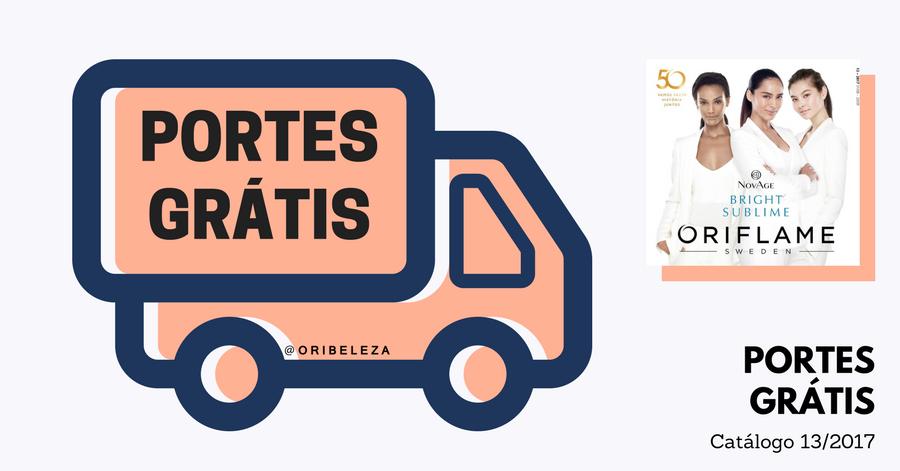 Portes Grátis no Catálogo 13 de 2017