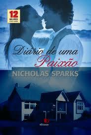 Diário de uma Paixão,diário de uma paixão, Leitura, Nicholas Sparks, Resenha de Livro, textos motivacionais,