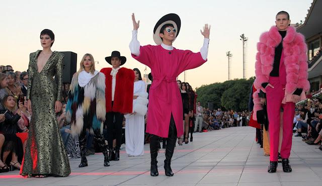 Santiago Artemis presentó Le Grand Mensonge en el marco del Couture Fashion Week #AW17