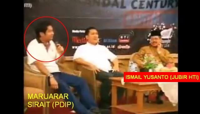 TERCYDUK! Mau Gebukin Pendukung Khilafah, Politisi PDIP Maruarar Sirait Ternyata Pernah Ngemis Dukungan ke HTI