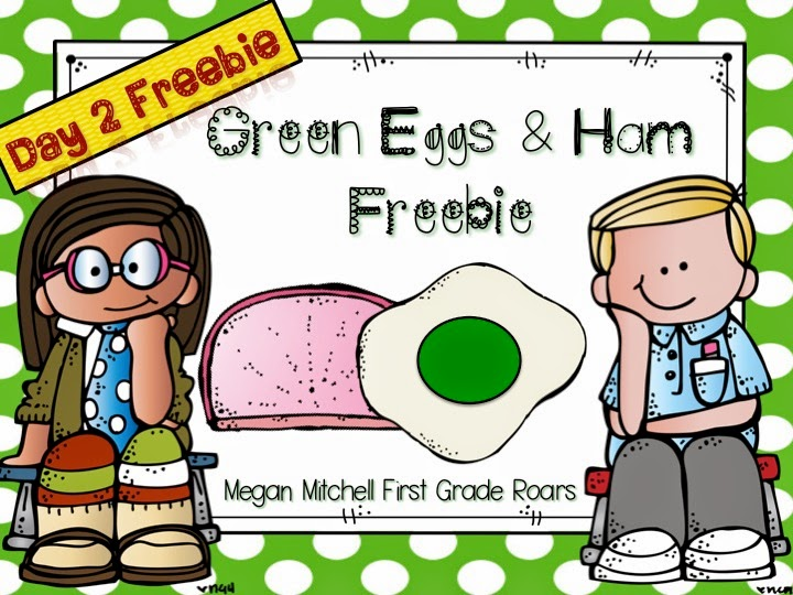 Day 2... Dr. Seuss 5 Day Freebie: Green Eggs and Ham! - First Grade