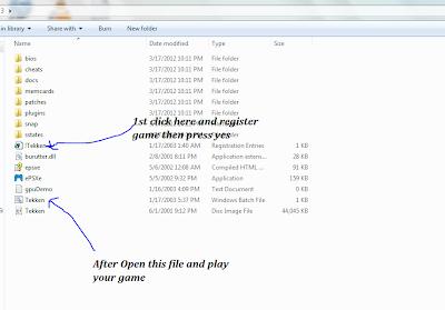 Petunjuk instalasi game Tekken 3