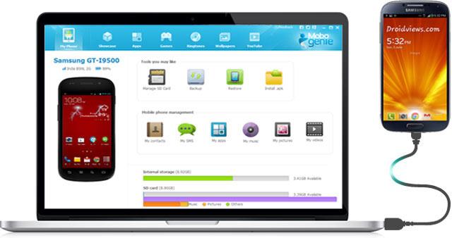 تحميل برنامج Mobogenie  للأدارة هواتف االأندرويد