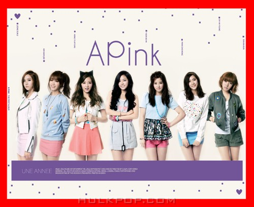 Apink – UNE ANNEE (FLAC + ITUNES PLUS AAC M4A)