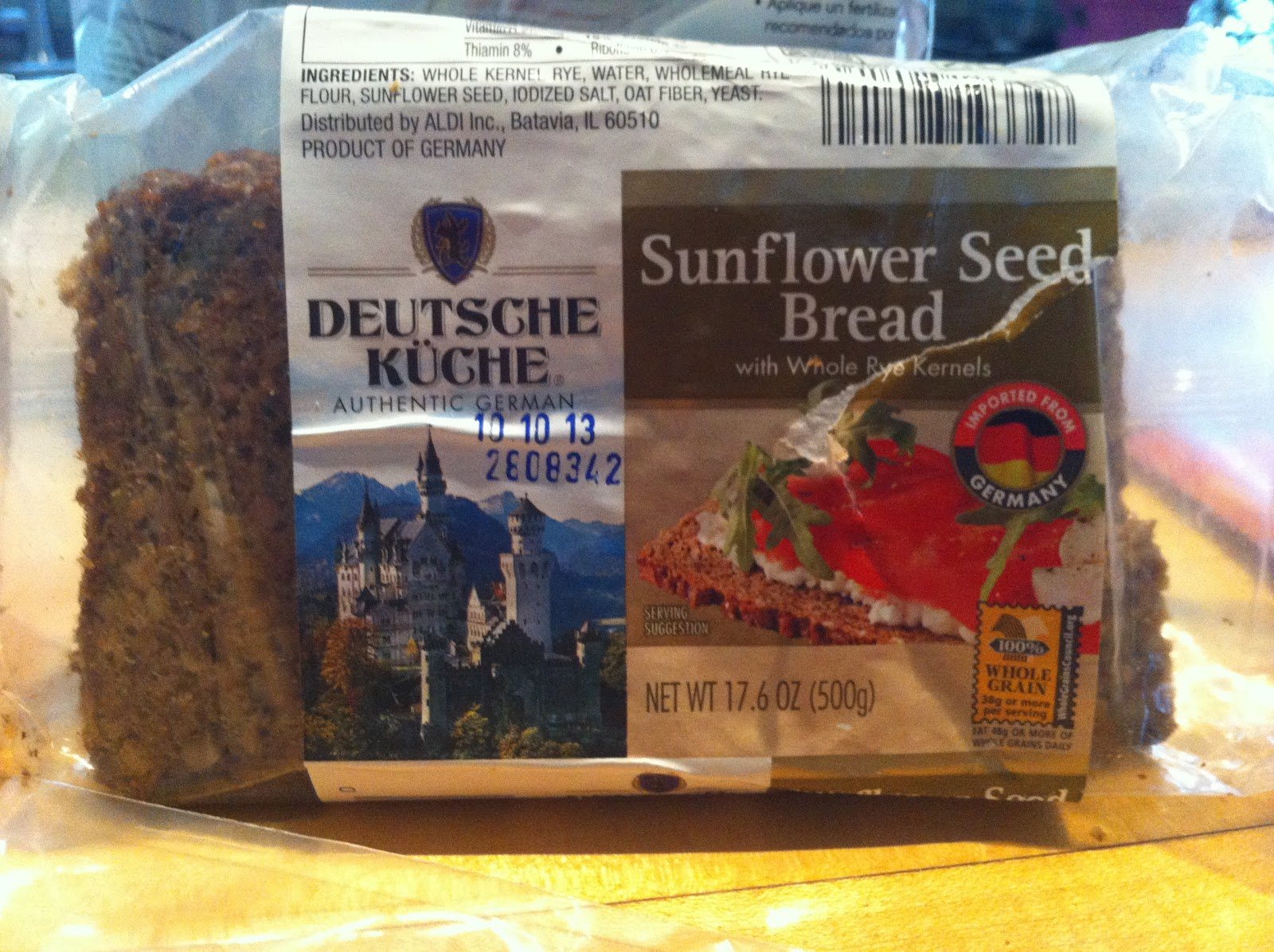 Deutsche Kuche Bread What S Good At Aldi Deutsche Kuche Sunflower Seed Bread