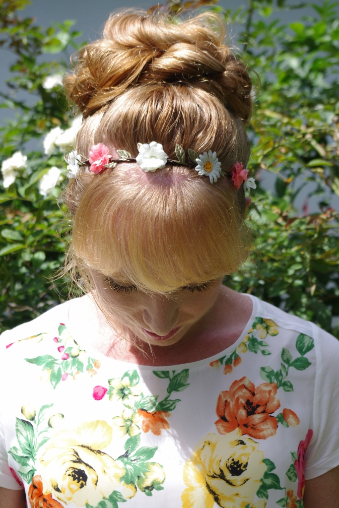 Braids & Hairstyles for Super Long Hair: Flower headband