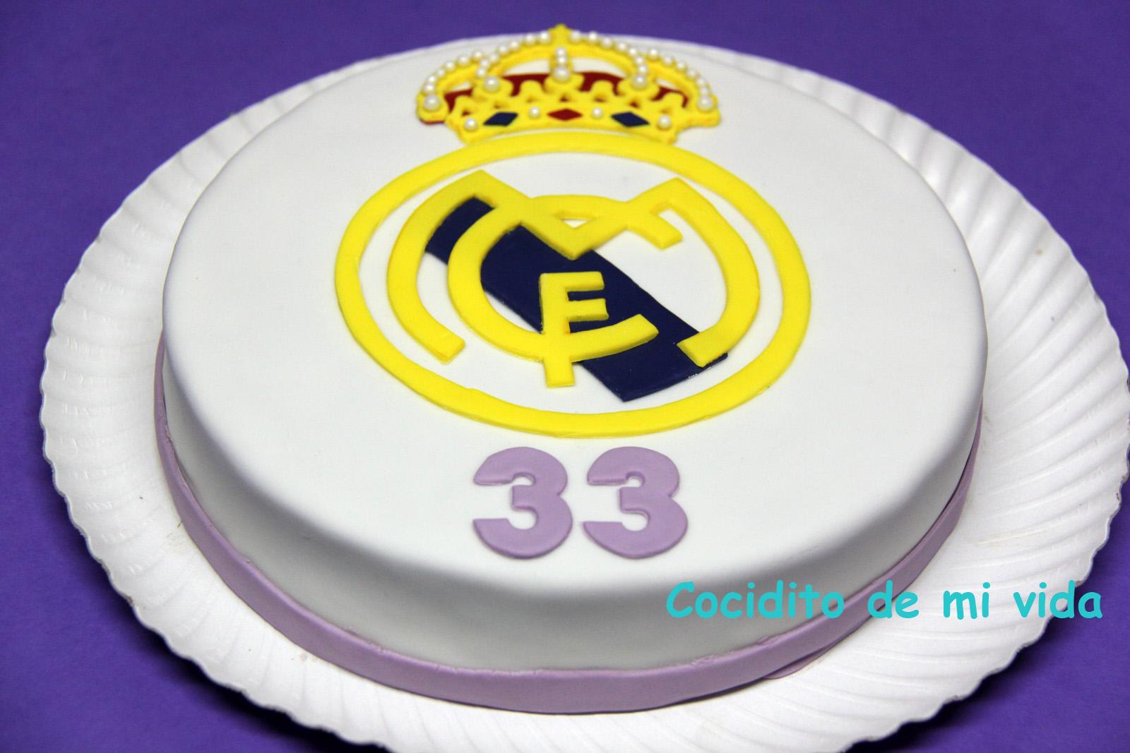 Cocidito De Mi Vida Tarta De Cumpleaños Del Real Madrid