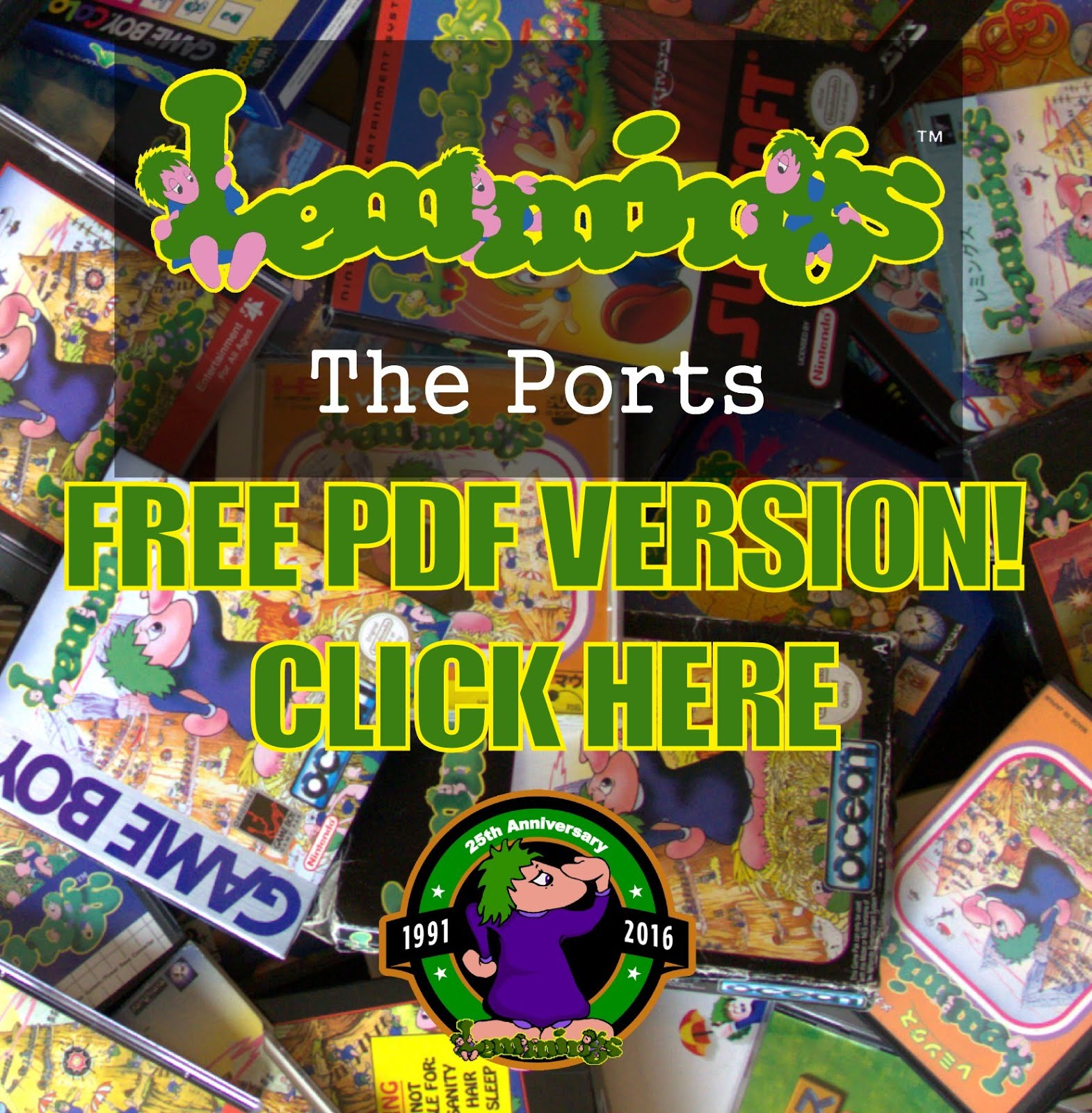 Free Lemmings PDF Book!
