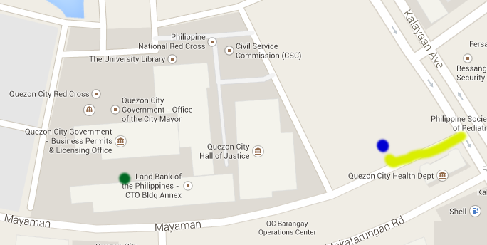 Police Clearance Quezon City Hall