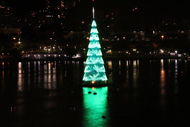 Blog Apaixonados por Viagens - Árvore de Natal da Lagoa - Rio de Janeiro