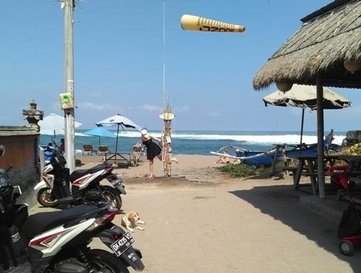 Nelayan Beach Canggu Bali, Nelayan Beach Street Art, Pantai Nelayan Canggu Bali, Street Art in Canggu