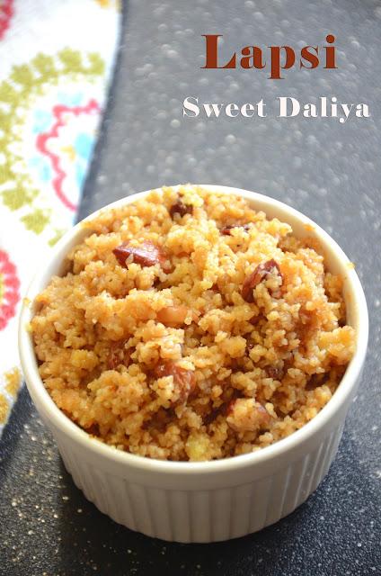 Lapsi | Sweet Daliya | Healthy Dessert Recipe | Fada Ni Lapsi