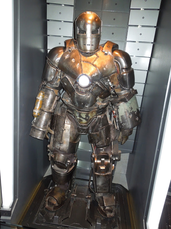 Classic Iron Man Mark I suit