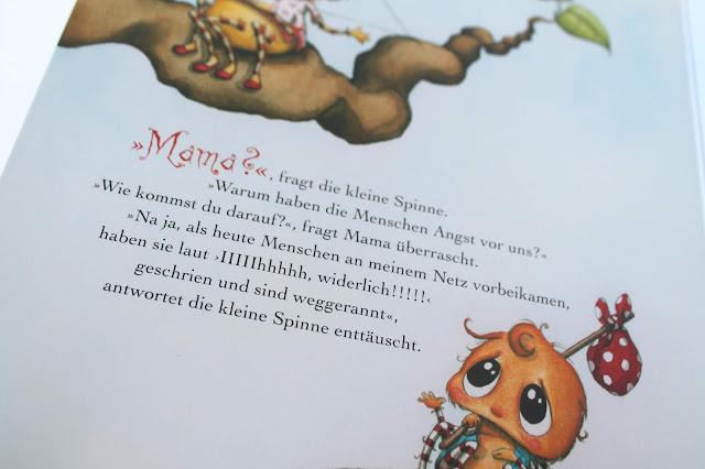 Spinne Widerlich Herbst Neuheiten Kinderbuecher Boje Verlag Kinderbuchtipp Buchtipp Leseratten Jules kleines Freudenhaus