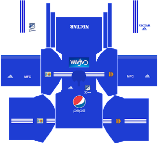 Kits uniformes millonarios liga aguila 2016 dream league soccer