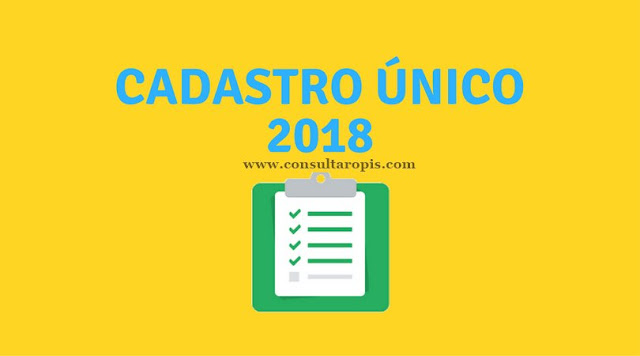 CadUnico 2018