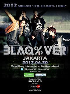 MBLAQ% Tour Jakarta 30 Juni 2013