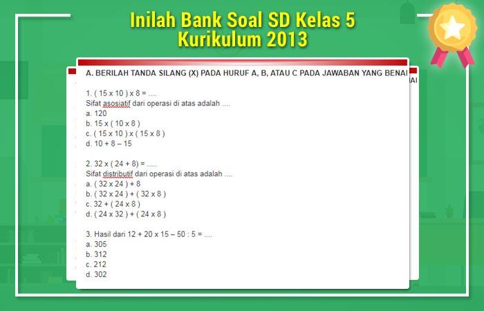 Bank Soal SD Kelas 5