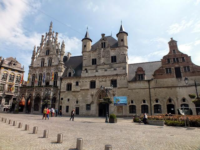 centro histórico de malinas belgica