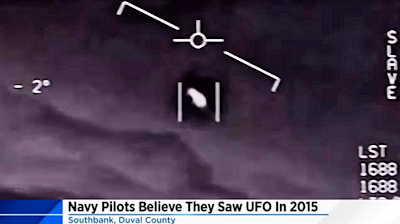 Navy Pilots Reported a UFO Off Jacksonville Coast