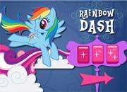 juegos mi pequeño pony Rainbow Dash