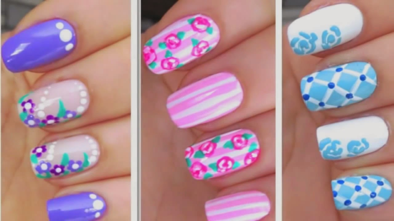 StyleVia: Easy 3 Nail Art Designs With Followers Style New ...