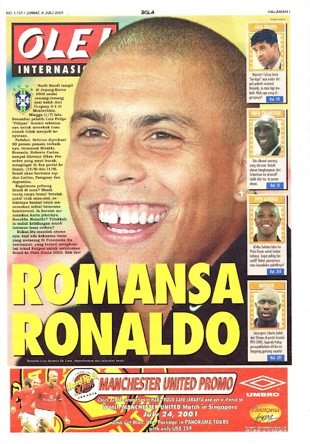 OLE! INTERNASIONAL: ROMANSA RONALDO