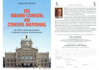 Le flyer de présentation du livre
