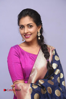 Actress Madhu Shalini Latest Pictures in Salwar Kameez  0004.JPG