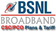 BSNL Broadband Plans for CSCs and PCOs