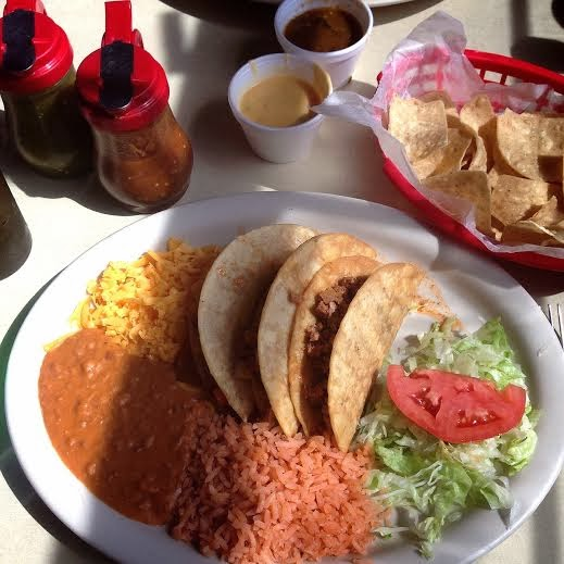 jalisco grill crispy tacos food