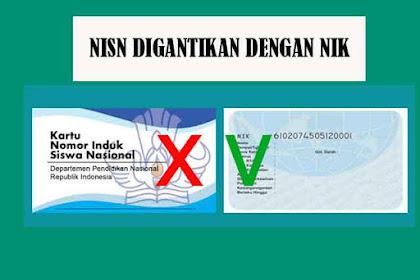 NISN Akan Dihapus Dan Tidak Berlaku lagi Untuk Tahun ajaran 2019/2020