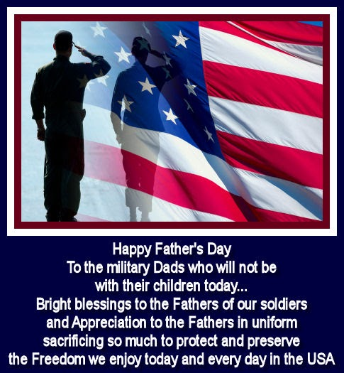 Military Father Daughter Quotes: Our Harley Days: Happy Father's Day Military Dads