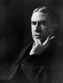 A. E. Housman photographed by E. O. Hoppé