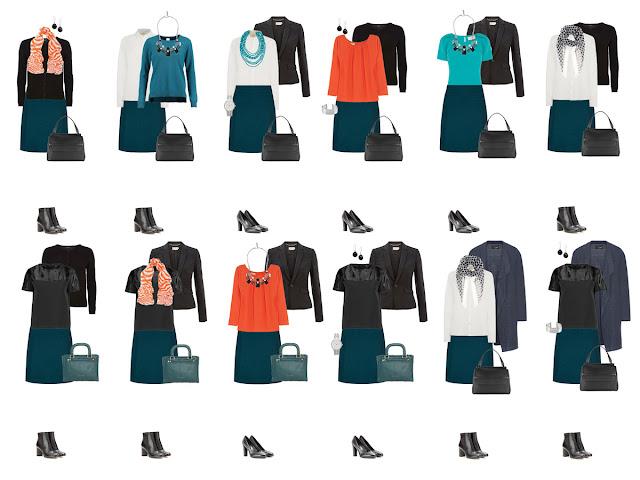 Комплекты капсульного гардероба