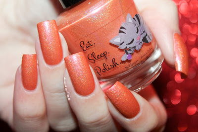 "Swatch of the nail polish ""Fawns Furry Friends"" from Eat Sleep Polish"