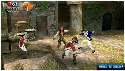 Free Download Pirates of the Caribbean: At World's End PPSSPP PSP