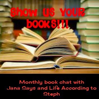 http://janasays.com/show-us-your-books-may-edition/