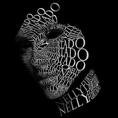 Cara hechas con tipografía