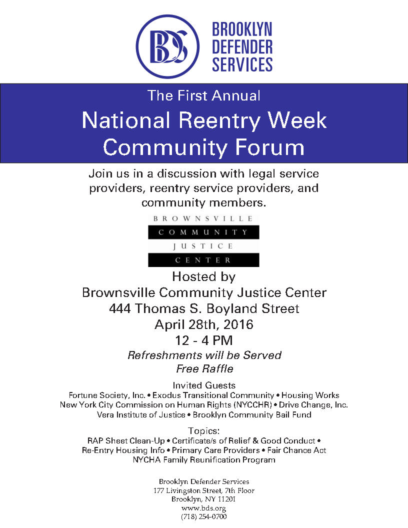National reentry week re thinking reentry to follow reentry week happenings on twitter use the hashtag reentryweek 1betcityfo Gallery