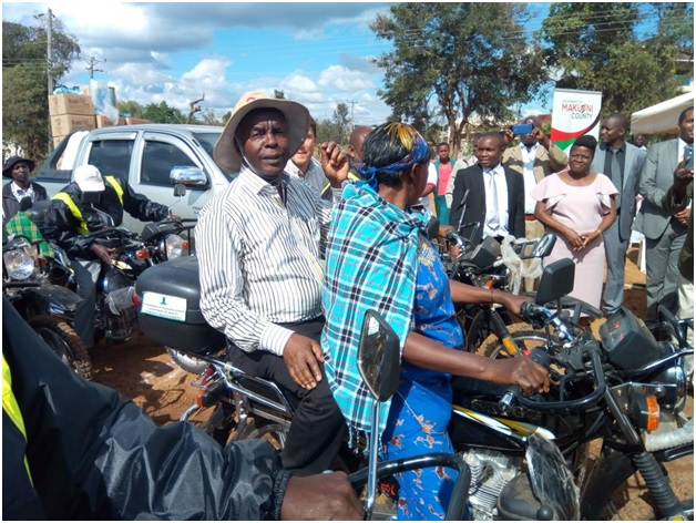 Image result for makueni governor flaggs of motorbikes