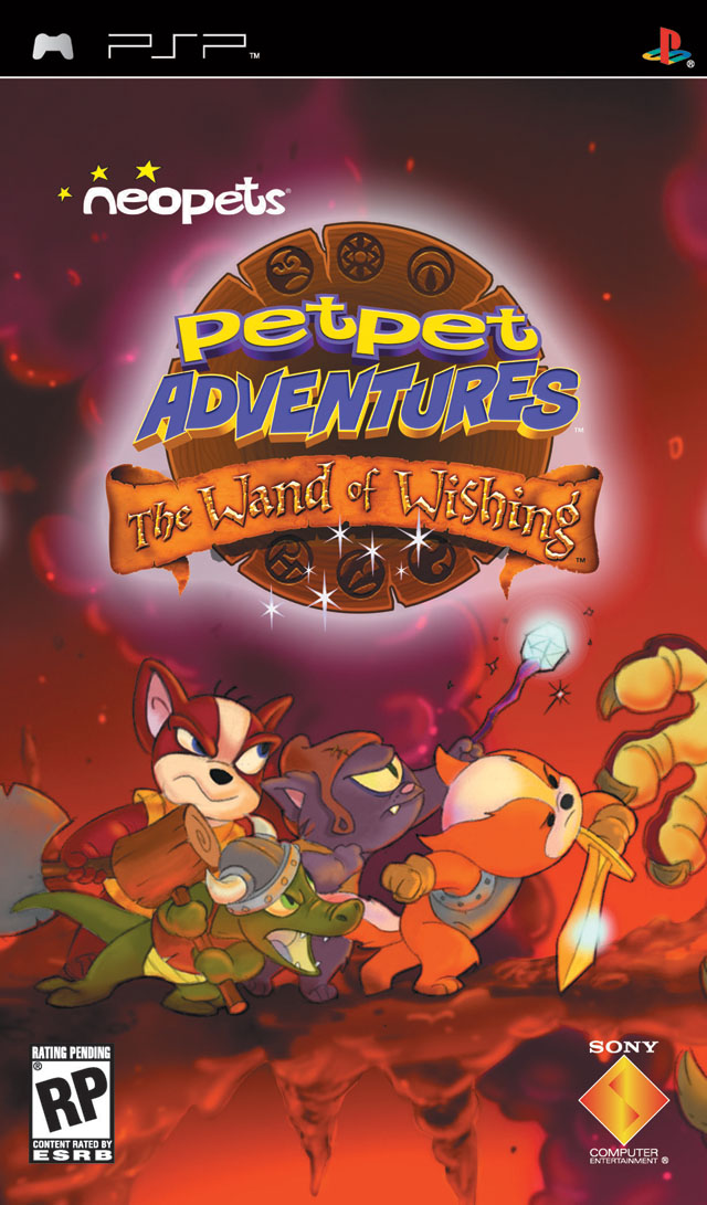 Neopets Petpet Adventures - The Wand of Wishing - PSP - ISO Download