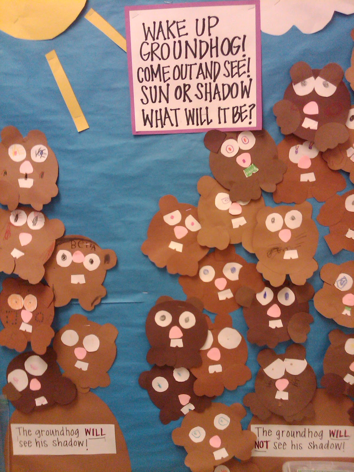 Just Teaching Kindergarten Edition My First Groundhog Day