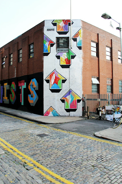 Street Art By Above in London, UK 2