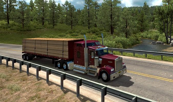 American Truck Simulator recebe nova expansão do mapa