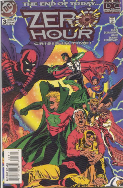 cover of Zero Hour v1 #3 (1994). Property of DC comics.