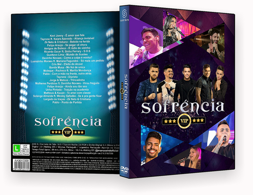 DVD-R- sofrencia vip 2018 – OFICIAL