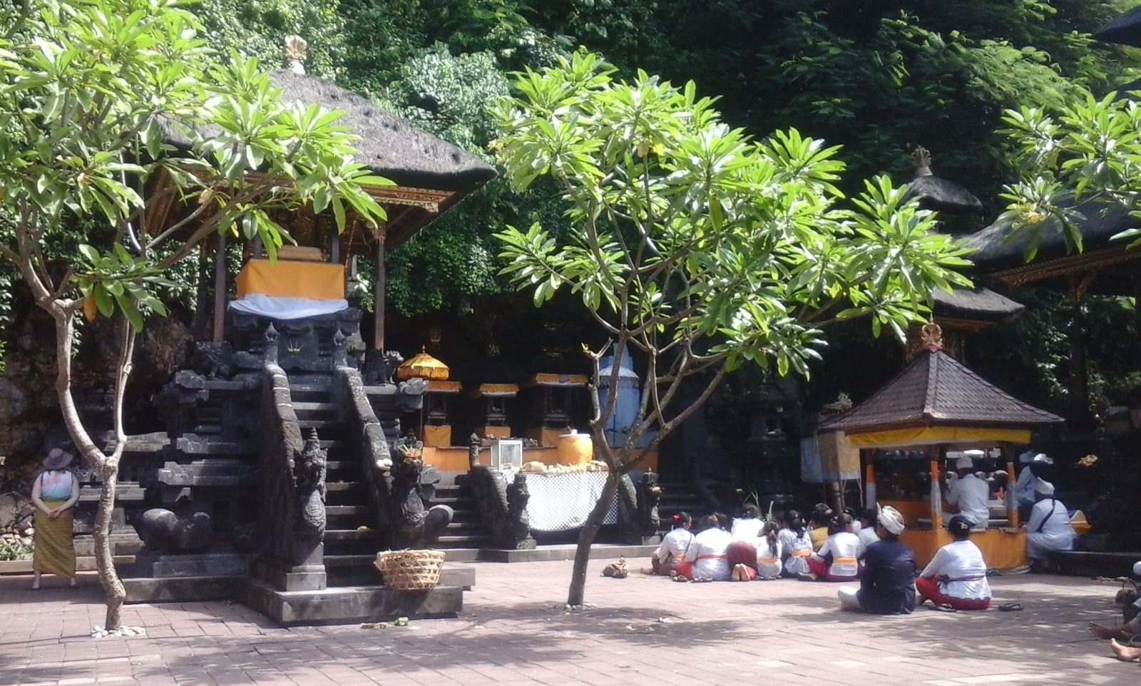 Bat Cave Temple (Pura Goa Lawah) - Pesinggahan, Dawan, Pura Goa Lawah, Bat Cave Temple, Klungkung, Bali, Holidays, Leisure, Attractions