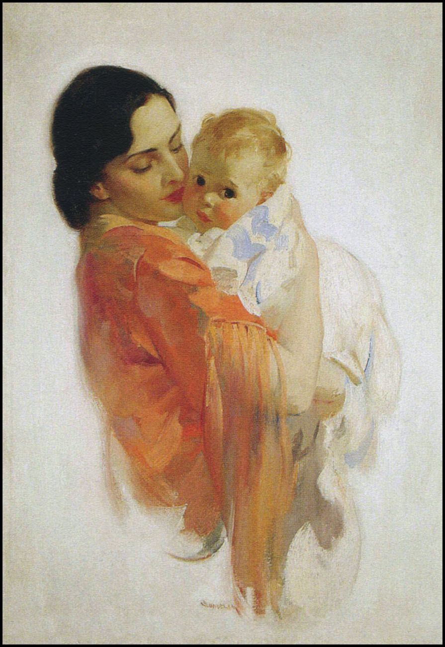 The Pictorial Arts Mother And Child