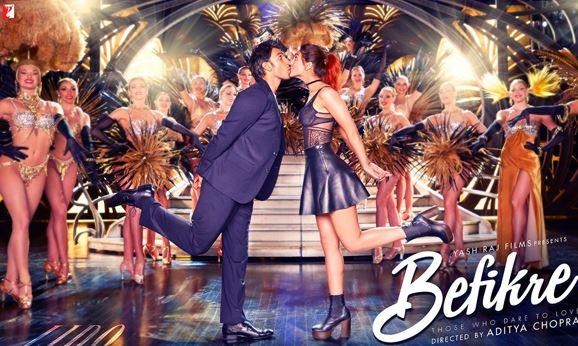 Ranveer Singh & Vaani Kapoor Looks and Images in Befikre Movie